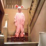A Christmas Story Pink Bunny Pajamas